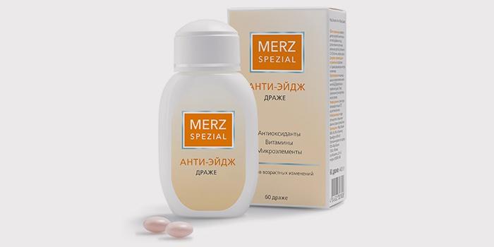Витамины для волос Мерц — отзывы
