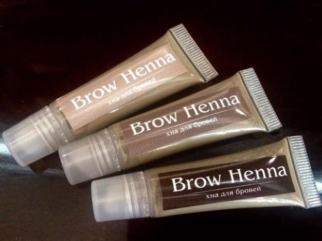 Хна для бровей Henna Brow — отзывы