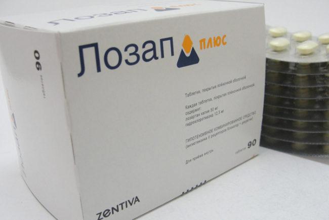 Лекарственный препарат Лозап Плюс — отзывы