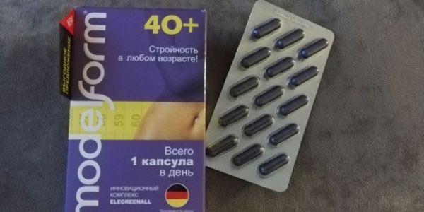 БАД Модельформ 40 — отзывы