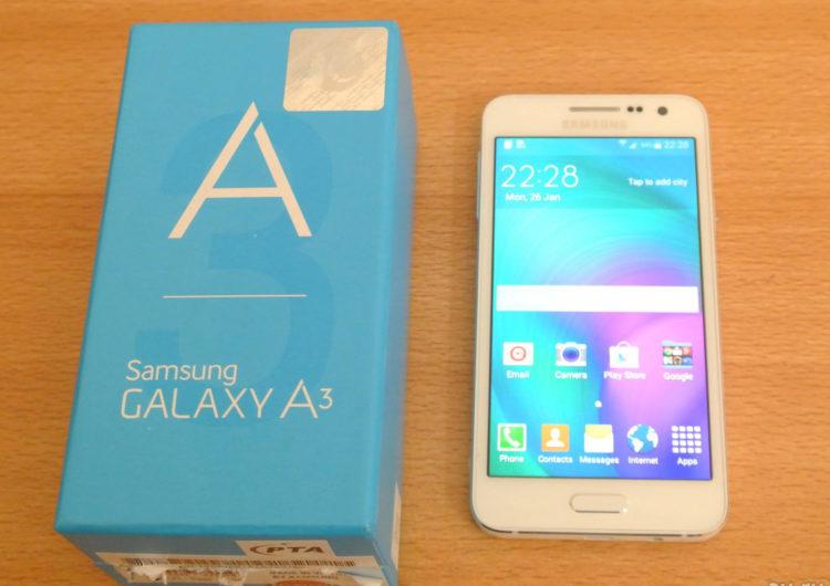 Смартфон Samsung Galaxy А3 — отзывы