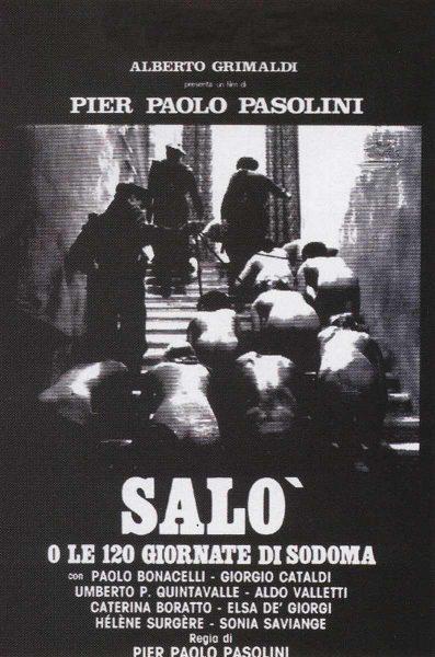Фильм «Сало или 120 дней Содома» — отзывы