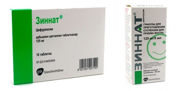 Антибиотики Зиннат — отзывы