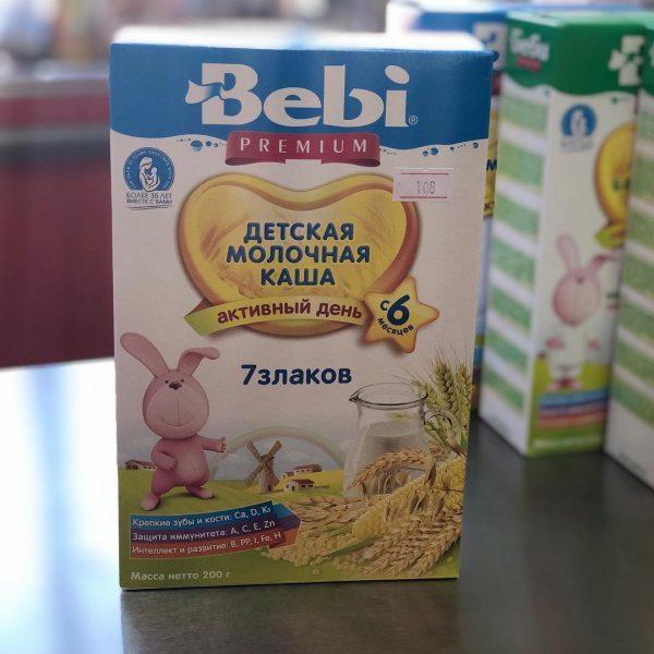 Каша Bebi Молочные каши — отзывы