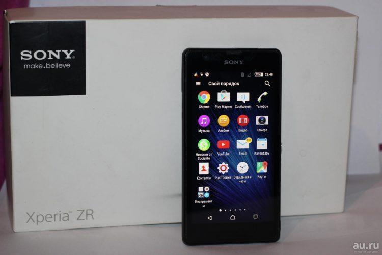 Sony Ericsson Xperia ZR C5503 — отзывы