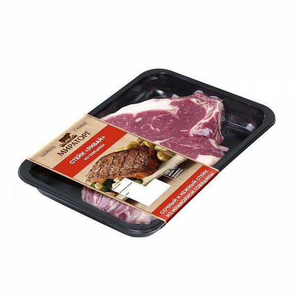 Стейк «Рибай» из говядины Мираторг мраморная говядина Блэк Ангус — отзывы