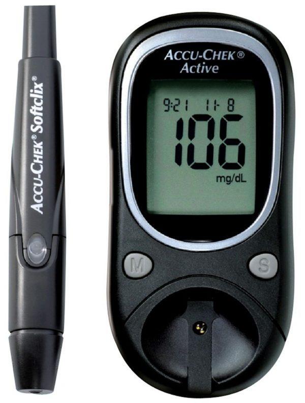 Глюкометр Roche Accu-Chek Active — отзывы