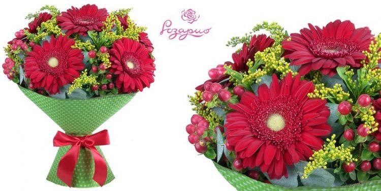 Доставка цветов «Розарио» — отзывы