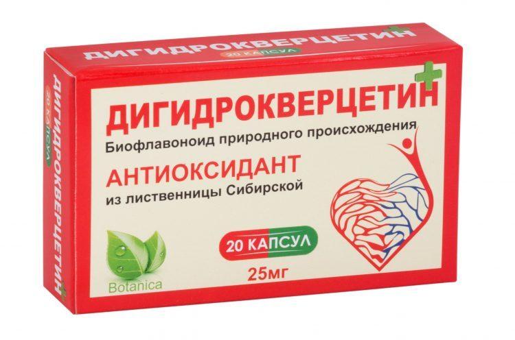 БАД Эвалар Дигидрокверцетин — отзывы