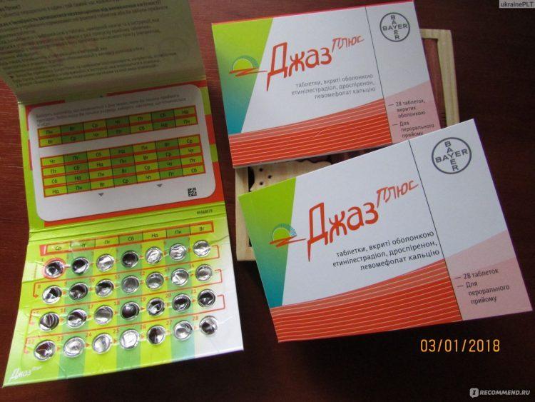 Контрацептивы Bayer Джес Плюс (YAZ plus) — отзывы