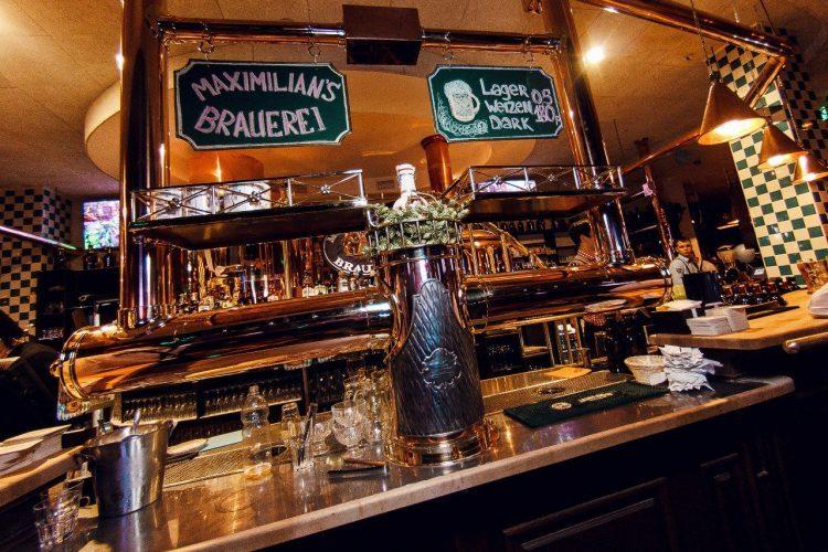 Максимилианс — клубный ресторан-пивоварня — отзывы