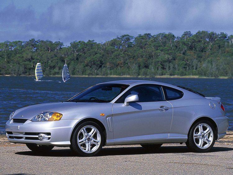 Hyundai Tiburon Coupe Tuscani — 2003 — отзывы