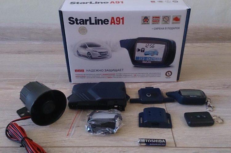 Автосигнализация StarLine A91 отзывы — отзывы