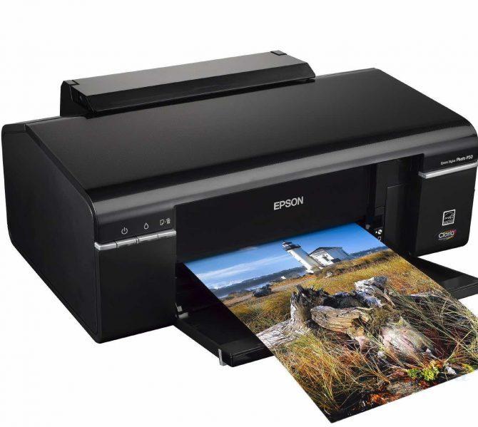 Принтер Epson Stylus Photo P50 — отзывы