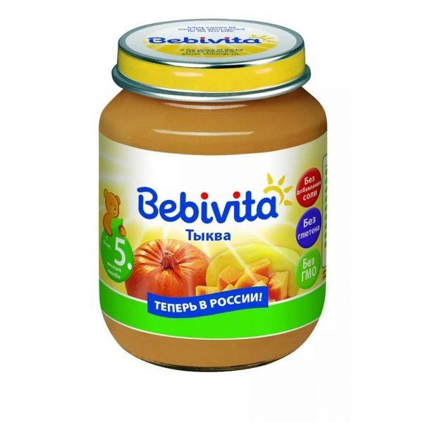 Детское пюре Bebivita — отзывы