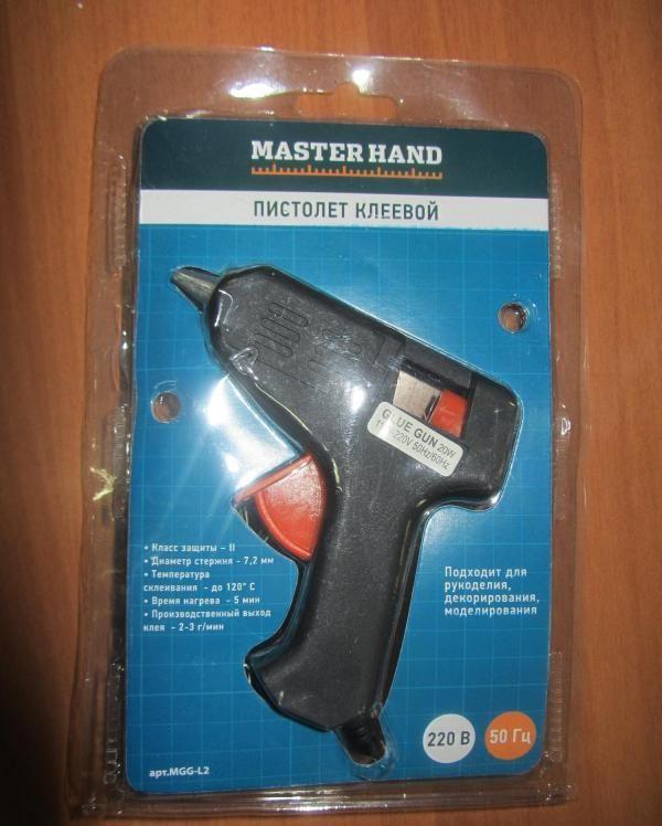 Пистолет клеевой Master Hand — отзывы