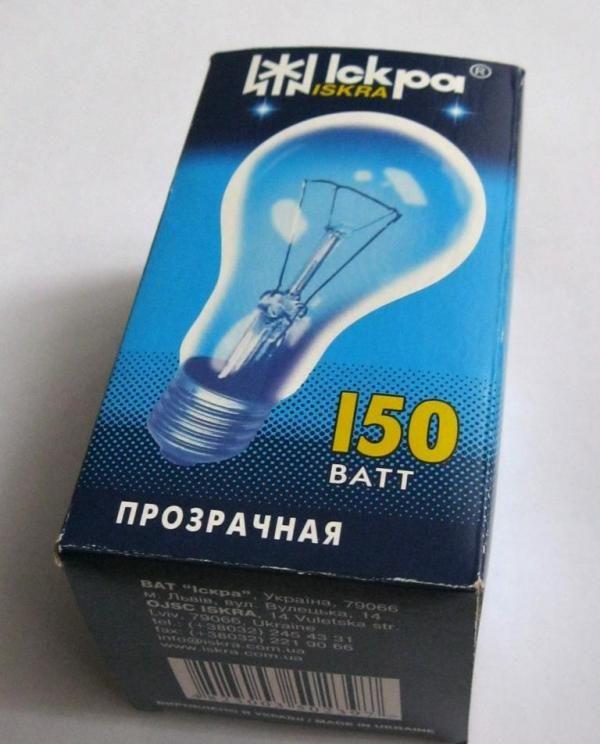 Лампа накаливания Искра — отзывы