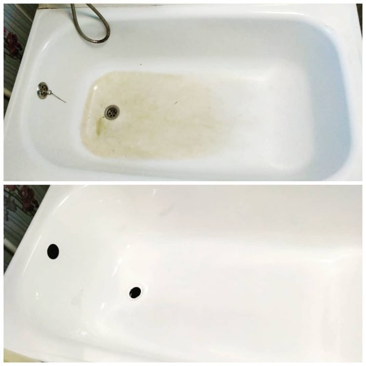 Реставрация ванн наливным акрилом — отзывы