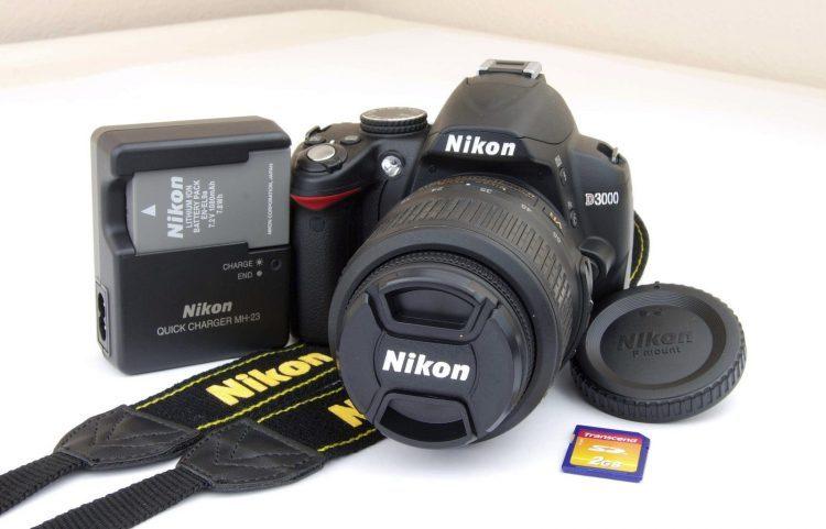 Nikon D3000 — отзывы