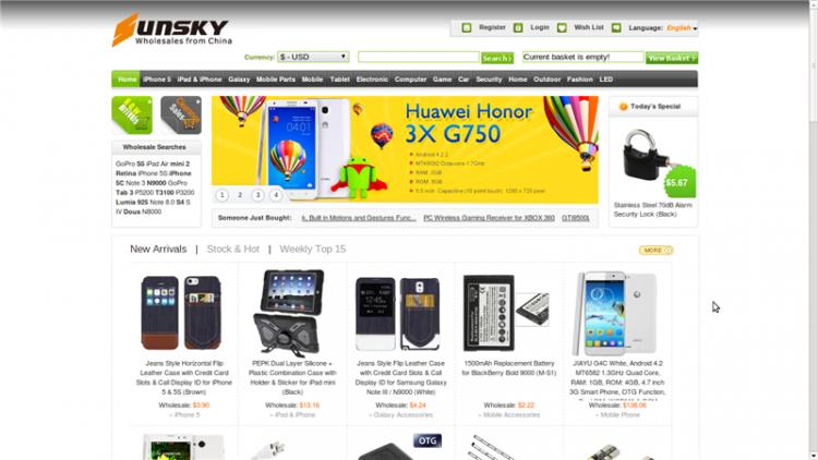 Sunsky-online.com — интернет-магазин электроники — отзывы