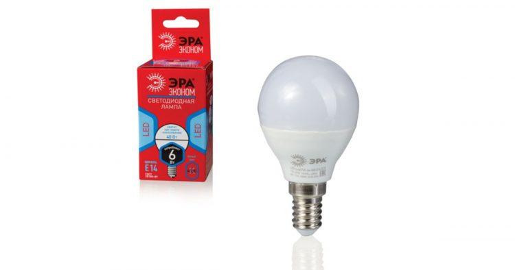 Светодиодная лампа Эра Led — отзывы