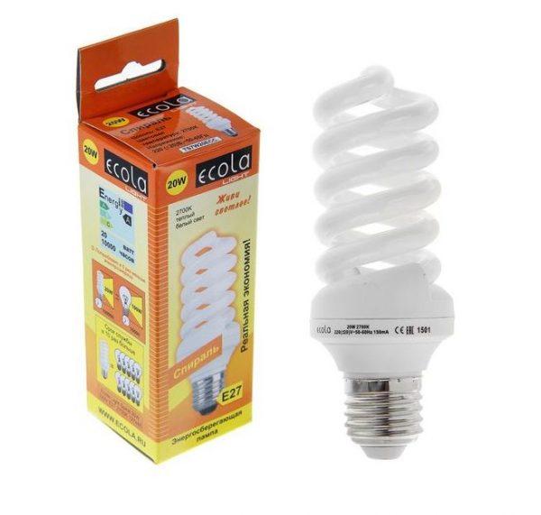 Энергосберегающие лампы Ecola — отзывы