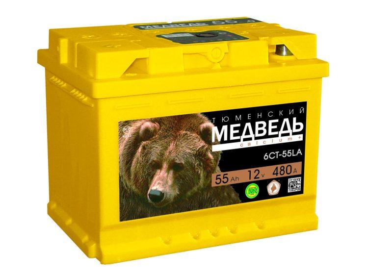 Аккумулятор Тюменский Медведь — отзывы