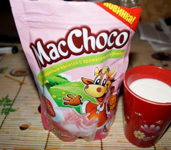 Напиток растворимый MacChoco — отзывы