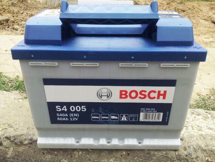 Аккумулятор Bosch S4 005 60Ah — отзывы