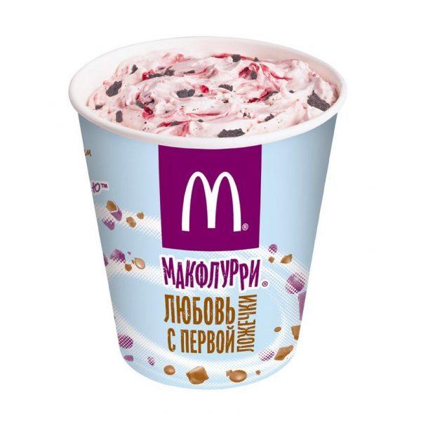 Мороженое McDonald's / Макдоналдс Макфлури Де Люкс — отзывы