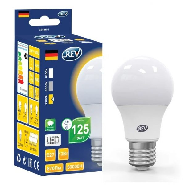 Светодиодные лампы REV — отзывы