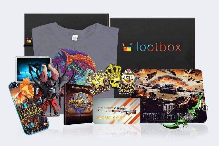 Сайт Lootbox.ru — наборы для гиков и геймеров — отзывы