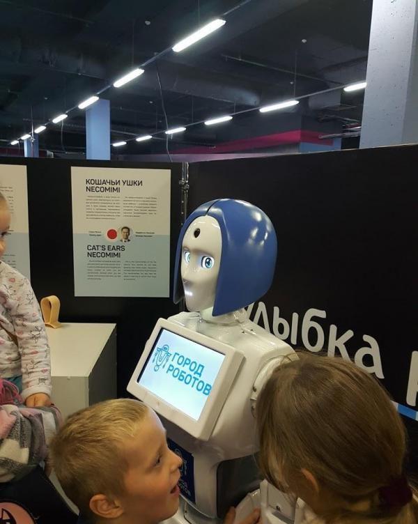 Выставка «Город роботов» в ТРК «Питерленд» — отзывы