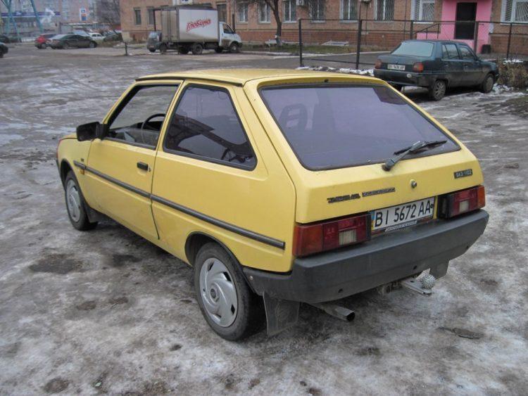 Автомобиль Таврия ЗАЗ-1102 хэтчбек — отзывы