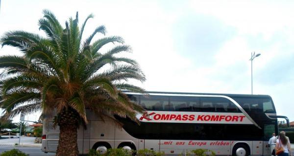 Автобусное экскурсионное агентство «Kompass Komfort» (Германия, Дюссельдорф) — отзывы