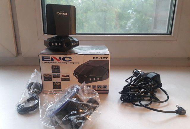 Автомобильный видеорегистратор ENC EC-127 — отзывы