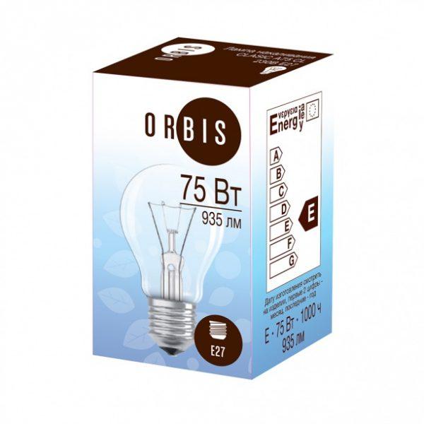Лампа накаливания VITO Е27 75 Вт — отзывы