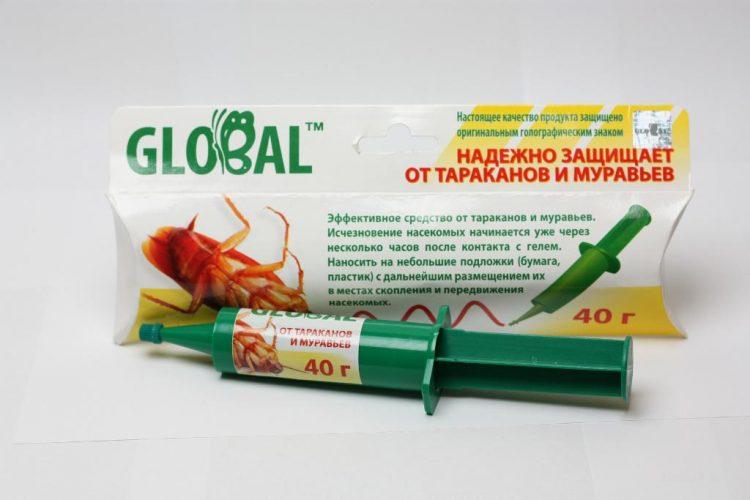 Средство для уничтожения тараканов Global — отзывы