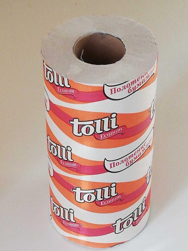 Бумажные полотенца Tolli Econom — отзывы