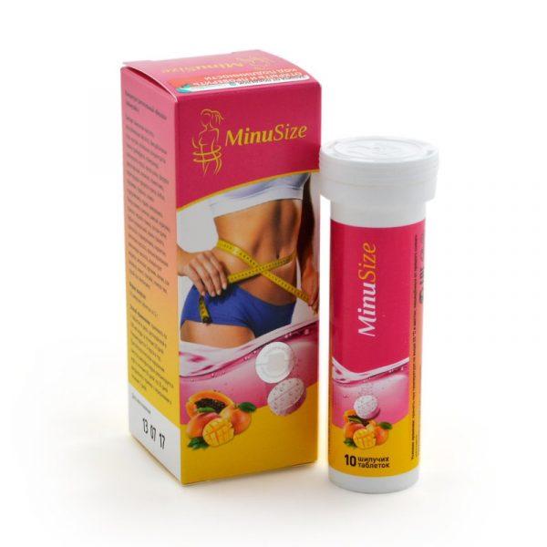 Шипучие таблетки для похудения MinuSize — отзывы