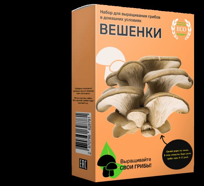Набор для выращивания грибов Плюс «Домашняя Грибница» — отзывы
