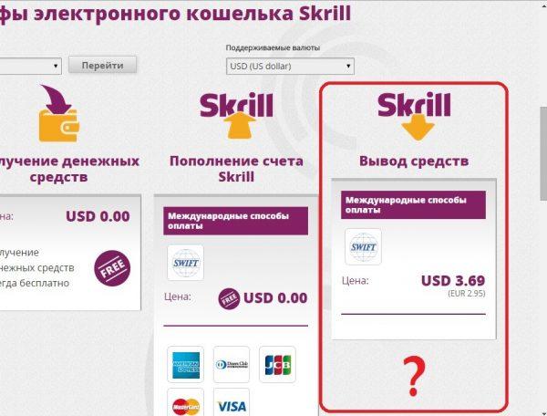 Электронный кошелек Skrill — отзывы