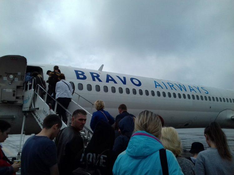 Авиакомпания Bravo Airways — отзывы