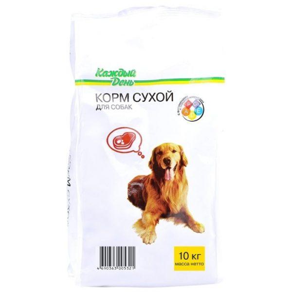 Сухой корм для собак «Каждый День» — отзывы