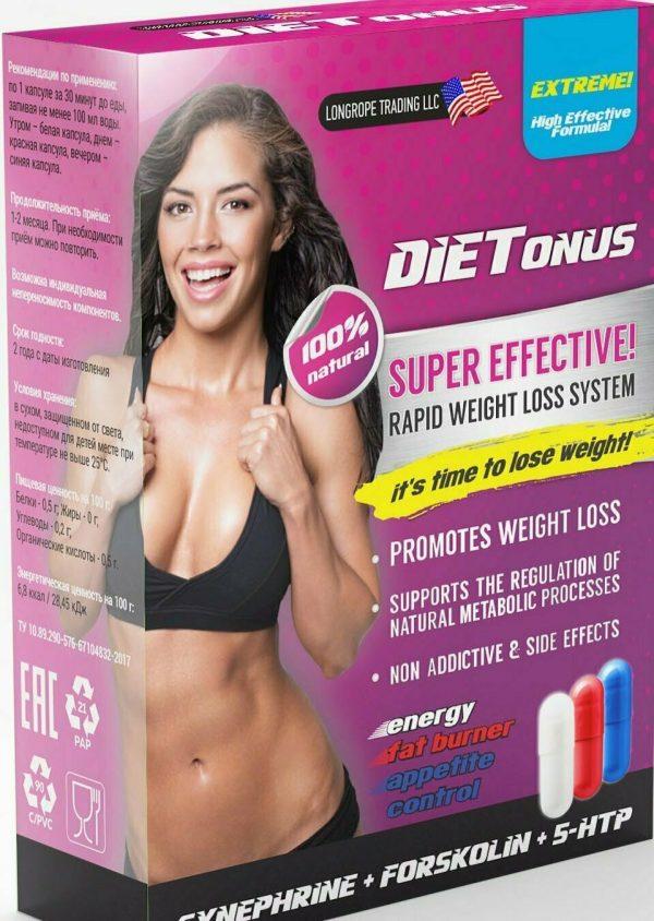 Капсулы для похудения LONGROP TRADING LLC DIETonus — отзывы