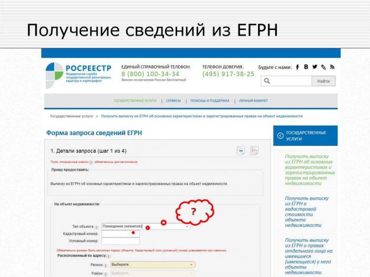 Rosreestr.online — сайт получения выписки ЕГРН — отзывы