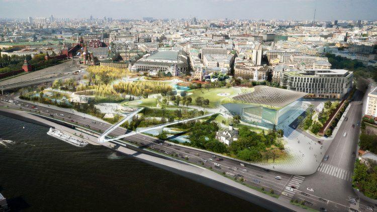 Парк «Зарядье» (Россия, Москва) — отзывы