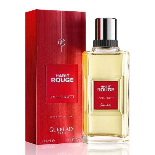 Мужская туалетная вода Guerlain Habit Rouge — отзывы