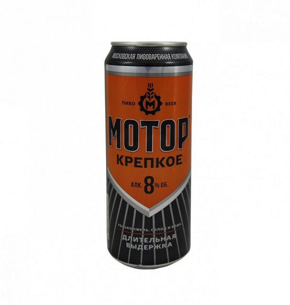 Пиво Московская пивоваренная компания Мотор крепкое — отзывы