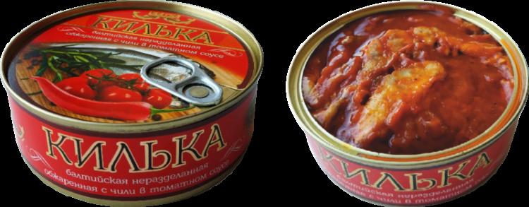 Килька Пролив балтийская неразделанная обжаренная с чили в томатном соусе — отзывы